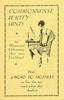 Commonsense Beauty Hints - TUC leaflet for women, 1931