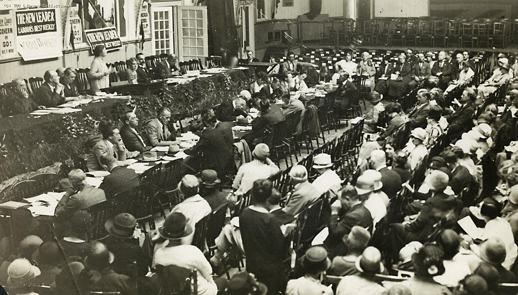 TUC Women's Trade Union conference, Bournemouth, 1926