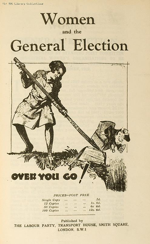 Women and the General Election, 1929