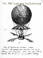 One of Blanchard's balloons, 1785