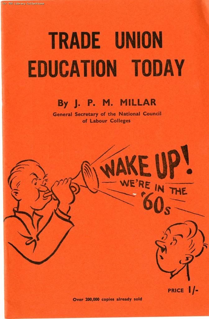 Trade union education today, 1961