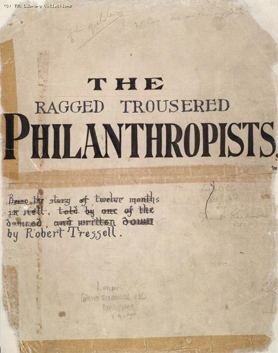 The Ragged Trousered Philanthropists - Title Page