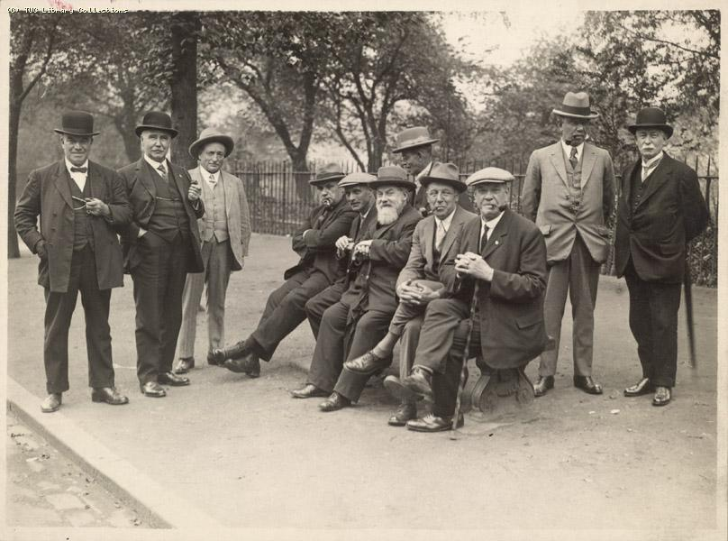 Group picture - Edinburgh Conference 1927