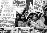 Grunwick Strikers, 1977